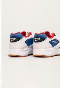 Białe sneakersy Reebok Classic z cholewką, na sznurówki