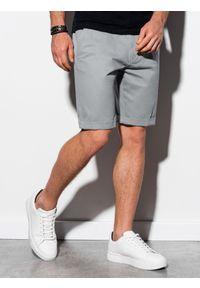 Szare szorty Ombre Clothing krótkie, na co dzień #4