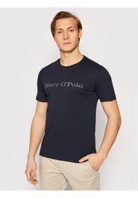 Marc O'Polo T-Shirt B21 2220 51230 Granatowy Regular Fit. Typ kołnierza: polo. Kolor: niebieski