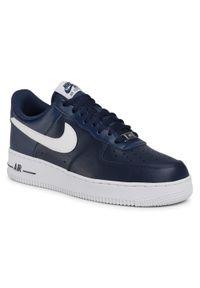 Niebieskie półbuty Nike z cholewką