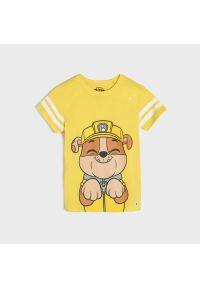 Sinsay - Koszulka Psi Patrol - Żółty. Kolor: żółty