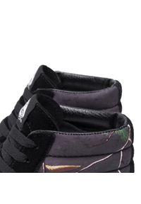 Vans - Sneakersy VANS - Sk8-Hi VN0A4BV6TGO1M (Realtree Xtra) Meteorite. Okazja: na spacer, na co dzień. Kolor: czarny. Materiał: zamsz, skóra, materiał. Szerokość cholewki: normalna. Styl: elegancki, klasyczny, casual, sportowy. Model: Vans SK8