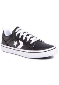 Czarne buty sportowe Converse z cholewką