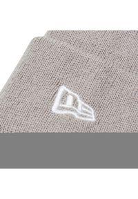 Szara czapka zimowa New Era