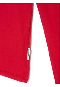 Napapijri Bluzka K Sirex Ls NP0A4EQD S Czerwony Regular Fit. Kolor: czerwony