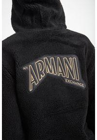 Armani Exchange - BLUZA ARMANI EXCHANGE. Typ kołnierza: kaptur. Materiał: dzianina