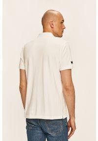 Biała koszulka polo Helly Hansen krótka, casualowa