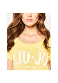 Żółty t-shirt Liu Jo