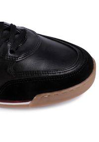 Sneakersy QUAZI - QZ-64-04-000654 601. Okazja: na co dzień. Kolor: czarny. Materiał: zamsz. Szerokość cholewki: normalna. Styl: elegancki, casual