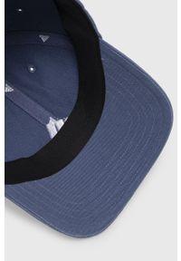 Niebieska czapka z daszkiem adidas Performance gładkie