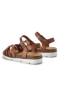 Brązowe sandały Sergio Bardi Young