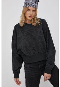 adidas Originals - Bluza bawełniana. Kolor: czarny. Materiał: bawełna