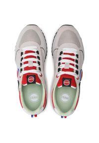 Colmar - Sneakersy COLMAR - Travis Sport Colors 038 Lt Gray/Red. Okazja: na co dzień. Kolor: szary. Materiał: skóra, materiał, zamsz. Szerokość cholewki: normalna. Styl: sportowy #5