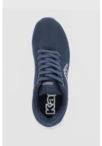 Kappa - Buty Trustal. Nosek buta: okrągły. Zapięcie: sznurówki. Kolor: niebieski. Materiał: guma