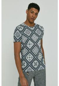medicine - Medicine - T-shirt Modern Africa. Kolor: zielony. Materiał: bawełna, dzianina