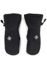 Czarne rękawiczki sportowe Spyder narciarskie