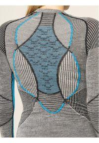 X-Bionic Bielizna termoaktywna górna Apani Merino APWT06W19W Szary Slim Fit