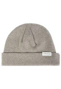 Szara czapka zimowa Calvin Klein Jeans