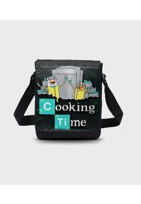 MegaKoszulki - Torba na ramię mała Cooking Time 2. Wzór: paski, nadruk