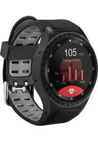 Czarny zegarek Acme smartwatch