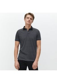 Szara koszulka polo Reserved polo