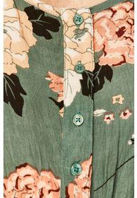 Wielokolorowy kombinezon ANSWEAR casualowy, w kwiaty