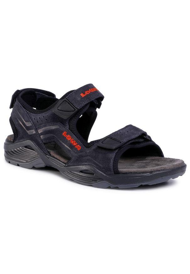 Niebieskie sandały Lowa na lato, klasyczne