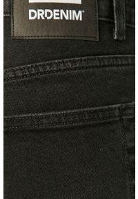 Dr. Denim - Szorty jeansowe. Okazja: na co dzień. Kolor: czarny. Materiał: denim, jeans. Styl: casual