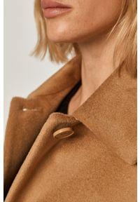 Złoty płaszcz MAX&Co. casualowy, na co dzień, bez kaptura