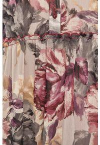 Różowa sukienka Answear Lab rozkloszowana, midi #6