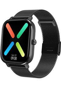 Smartwatch Pacific 20-6 Czarny (PACIFIC 20-6 czarna siatka). Rodzaj zegarka: smartwatch. Kolor: czarny