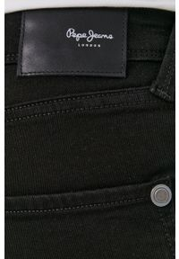 Pepe Jeans - Jeansy Finsbury. Kolor: czarny