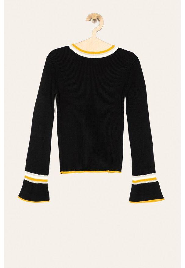 Czarny sweter Blue Seven na co dzień, casualowy