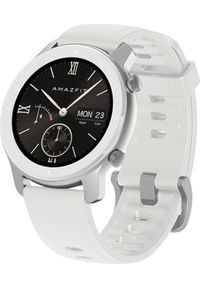 AMAZFIT - Smartwatch Amazfit GTR 42mm Biały (A1910WH). Rodzaj zegarka: smartwatch. Kolor: biały