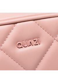 Torebka QUAZI - RX90029 Pink. Kolor: różowy. Materiał: skórzane