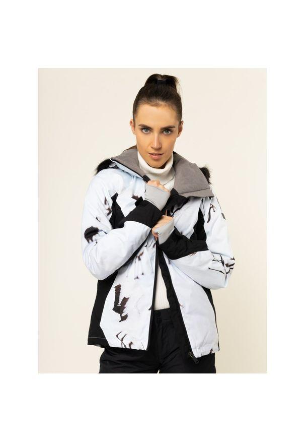 Biała kurtka narciarska Roxy