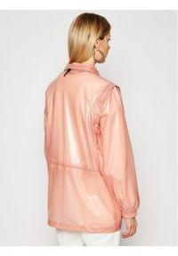 Rains Kurtka przeciwdeszczowa Unisex 1846 Różowy Regular Fit. Kolor: różowy #11