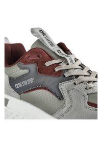 Big-Star - Sneakersy BIG STAR GG174463 Szary/Burgund. Kolor: szary