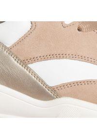 Beżowe buty sportowe Gabor z cholewką, na płaskiej podeszwie #6