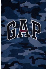 T-shirt polo GAP na co dzień, casualowy, krótki, polo