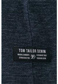 Tom Tailor - T-shirt. Kolor: niebieski. Materiał: bawełna, dzianina