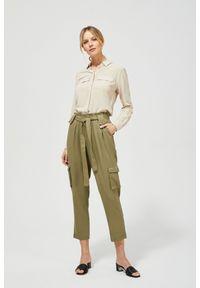 Zielone spodnie MOODO długie