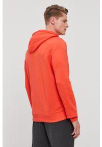 Reebok - Bluza. Okazja: na co dzień. Kolor: pomarańczowy. Materiał: poliester, dzianina. Wzór: nadruk. Styl: casual