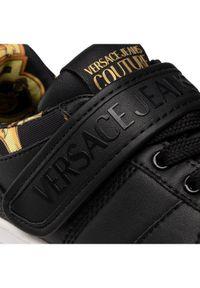 Versace Jeans Couture Sneakersy E0VWASK3 Czarny. Kolor: czarny