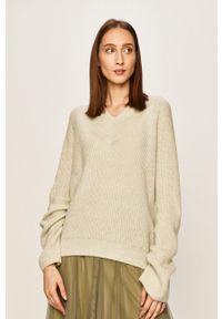 Miętowy sweter ANSWEAR raglanowy rękaw