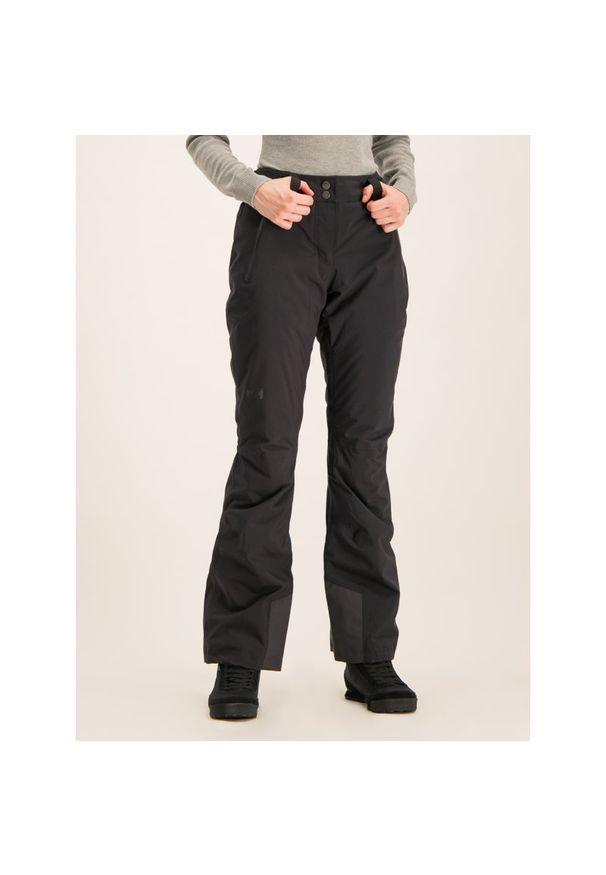 Czarne spodnie narciarskie Helly Hansen