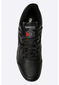 Czarne sneakersy Reebok z cholewką