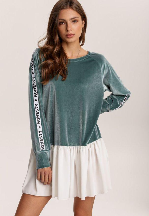 Zielona sukienka mini Renee