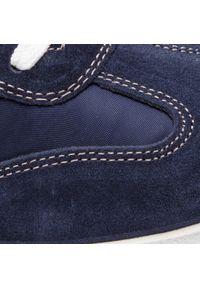 Niebieskie sneakersy Igi & Co z cholewką, na co dzień