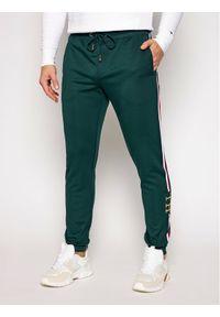 Zielone spodnie dresowe TOMMY HILFIGER